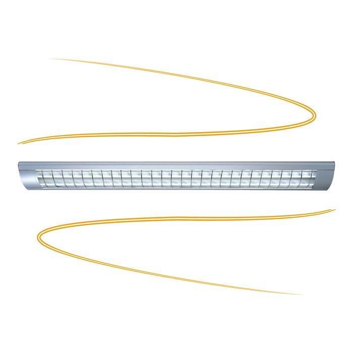 Rasterleuchte-Rasterlampe-Deckenleuchte-Buerolampe-Deckenlampe-Bueroleuchte-Lampe