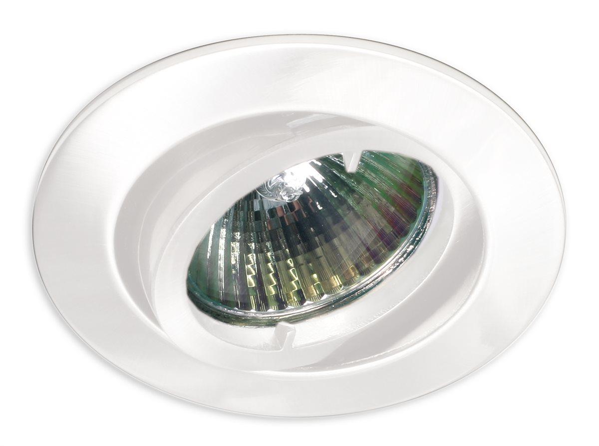 einbau strahler leuchte decken lampe downlight beleuchtung rund schwenkbar ebay. Black Bedroom Furniture Sets. Home Design Ideas