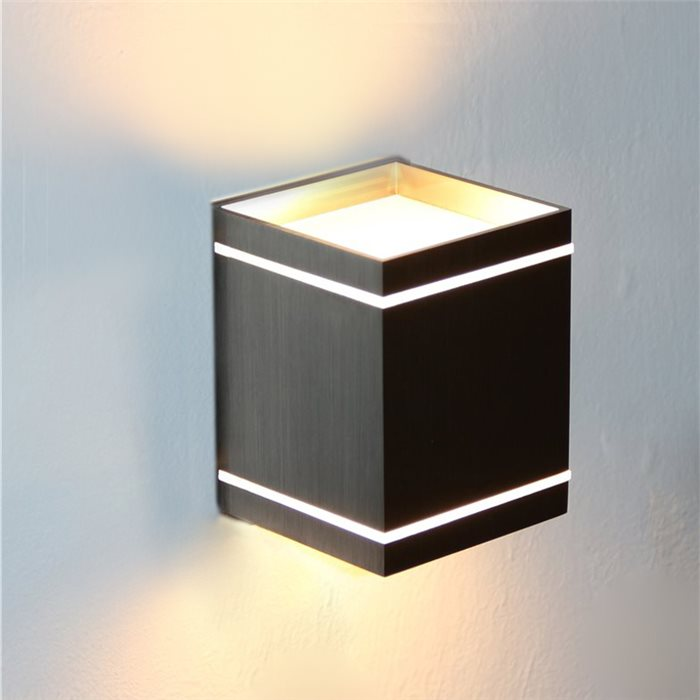 led up down wand lampe leuchte alex effekt licht stimmung flur wohnzimmer 230v ebay. Black Bedroom Furniture Sets. Home Design Ideas