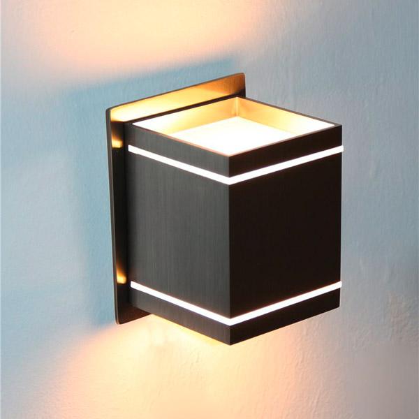 led up down wand lampe leuchte alex effekt licht stimmung flur wohnzimmer 230v ebay. Black Bedroom Furniture Sets. Home Design Ideas
