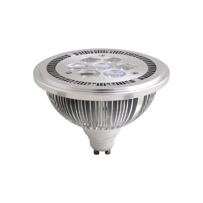 led leuchtmittel ar111 gu10 warmweiss 2700k dimmbar mit phasenabschnittsdimmer ebay. Black Bedroom Furniture Sets. Home Design Ideas