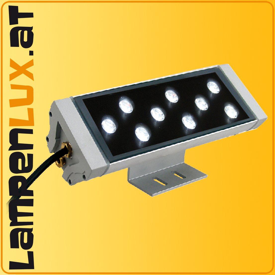 led aussenlampe objekt strahler aufbaustrahler aufbau leuchte lampe licht ip67 ebay. Black Bedroom Furniture Sets. Home Design Ideas