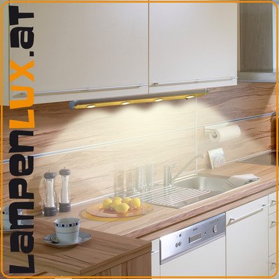 led wandlampe wand lampe unterbau leuchte k chen beleuchtung schwenkbar l 40cm. Black Bedroom Furniture Sets. Home Design Ideas