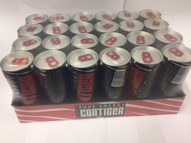 Contiger Pure Energy Drink 24x250ml Taurin Energy Drink