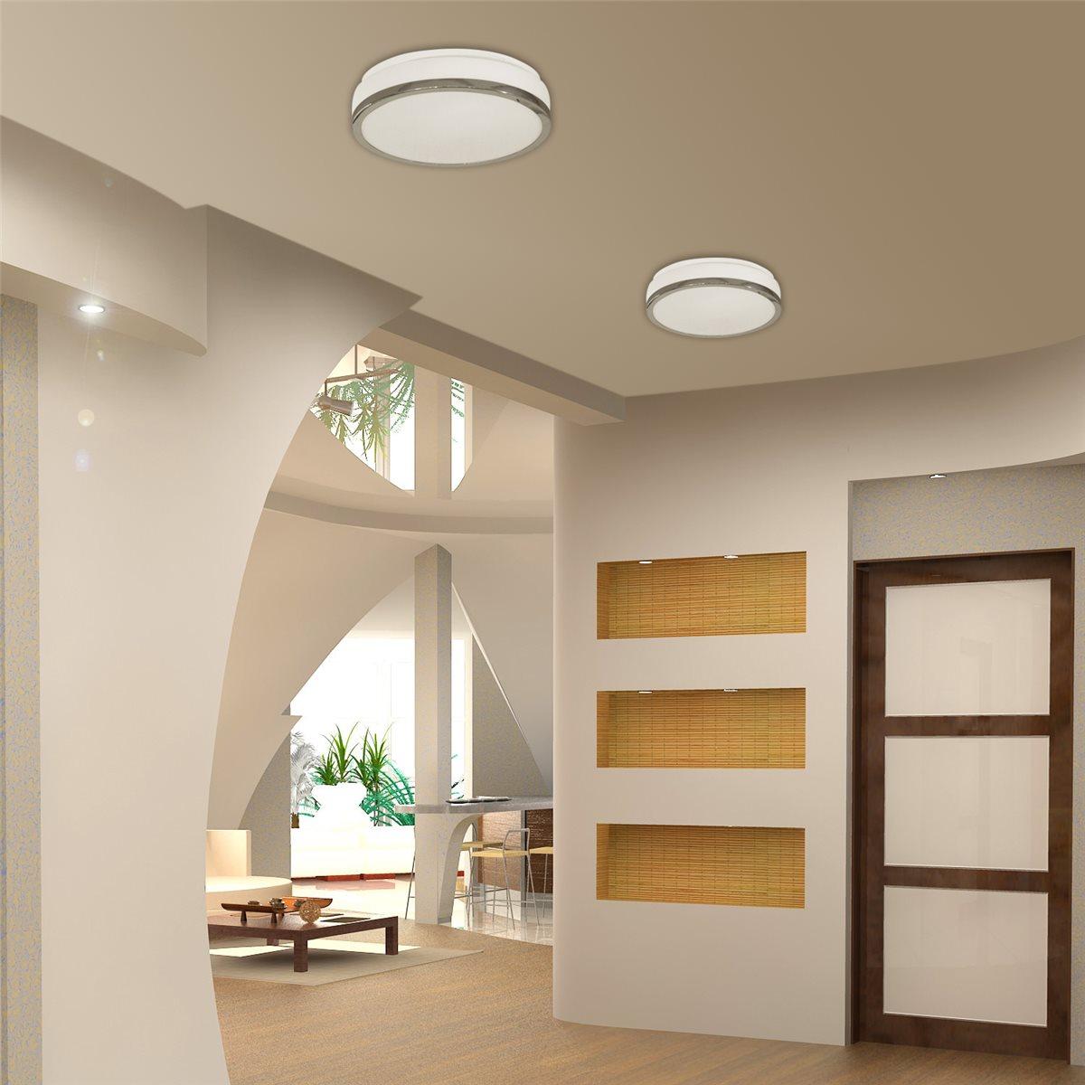lampenlux aussenleuchte danilo 230v deckenlampe badlampe rund glas terasse 2252 09. Black Bedroom Furniture Sets. Home Design Ideas