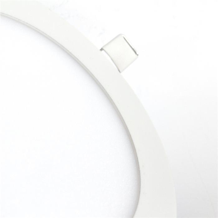 LED Außen Einbau Lampe Leuchte Romina Panel Rund Warmweiß Ø12-60cm Bad Flur 230V