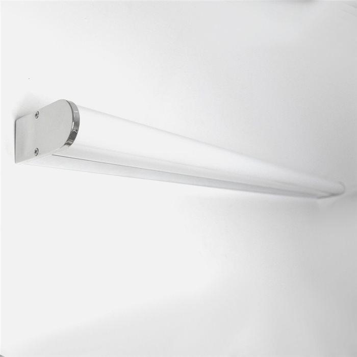 Lampenlux Wandlampe Pit Wandleuchte Badlampe Spiegelleuchte Unterbauleuchte 90cm 230V IP44