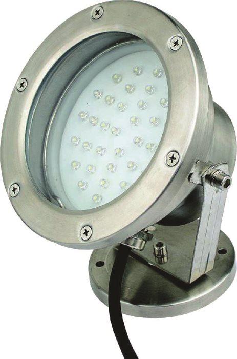 Lampenlux SET LED RGB Aufbau Strahler Außen Lampe Leuchte Eras Pool Garten Unterwasser Ø17