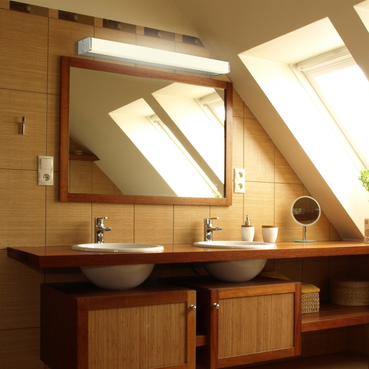 lampenlux wandlampe pico wandleuchte spiegelleuchte. Black Bedroom Furniture Sets. Home Design Ideas