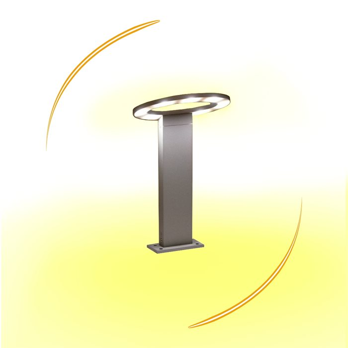 Lampenlux LED Außenleuchte Kay Gartenlampe Wegeleuchte Pollerleuchte H:90cm 230V