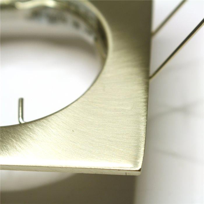 Lampenlux LED-Einbaustrahler Spot Rodeo gold/chrom/Nickel 12V/230V Aluminium rostfrei