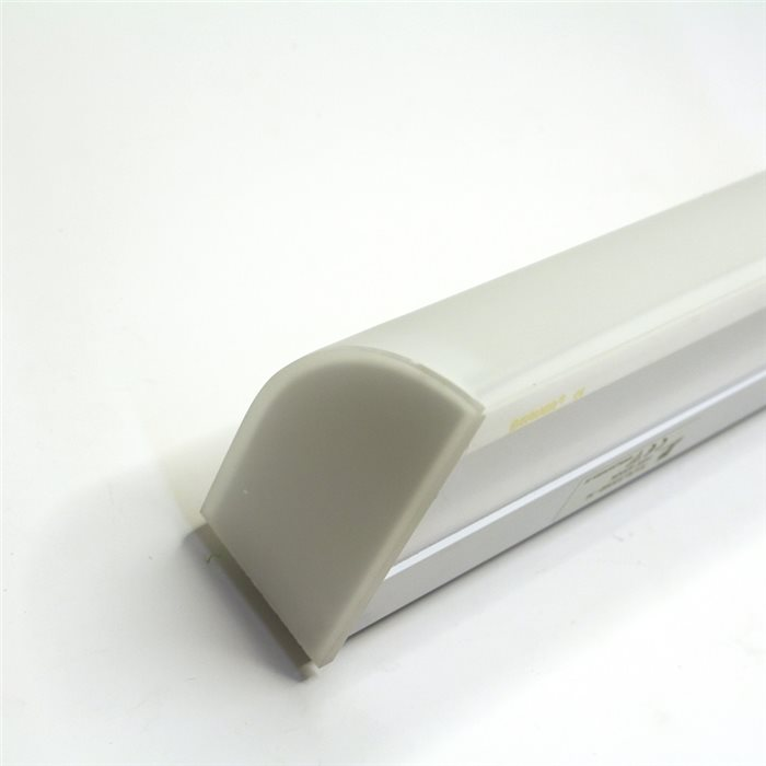 Lampenlux Unterbaulampe Unterbauleuchte Piera weiss T5 14W inkl. Leuchtmittel Länge: 60 cm