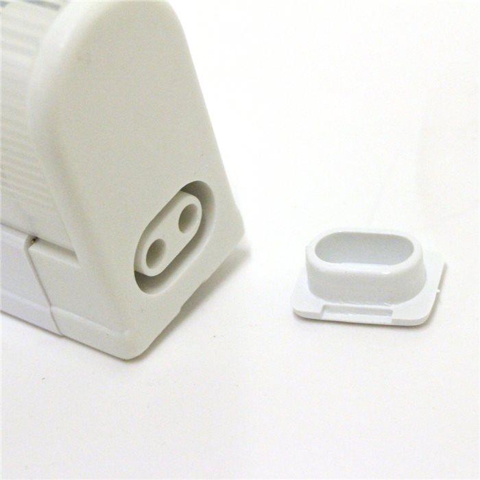 Lampenlux LED Unterbauleuchte Mocky Küchenleuchte Aufbaulampe Schalter Warmweiß 118,2cm