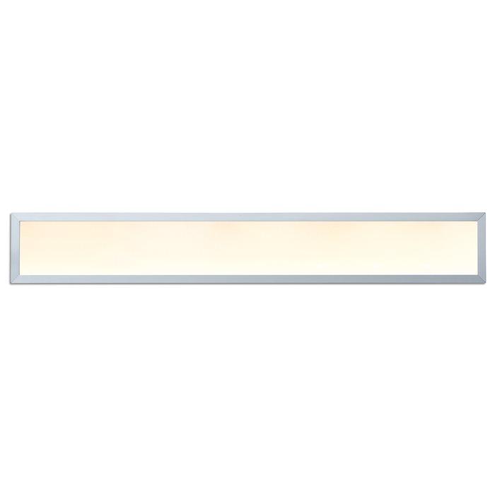 LED Panelo Hängeleuchte Thunder silber verschiedene Größen tagweiß/warmweiß rostfrei