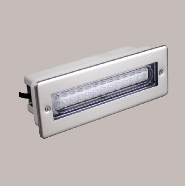 Lampenlux LED Einbaustrahler Santuro IP68 Gartenlampe 230V Außenleuchte wasserdicht Weiß Gelb Poolbeleuchtung Strahler Spot
