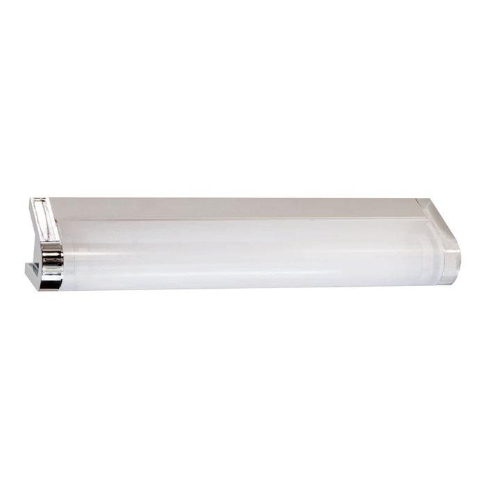 Lampenlux Wandlampe Akino Spiegelleuchte Bilderlampe Badleuchte Badlampe Weiß Chrom T5