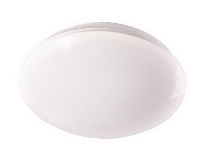 Lampenlux LED Aussenleuchte Dex Badlampe Terassenlampe Schwarz Rund Aluminium