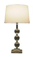 Lampenlux Tischleuchte Tischlampe Tischlicht Stehlampe Sanza 230V E27 60W Ø 35 cm