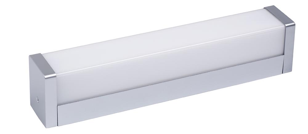 Lampenlux LED Wandlampe Nuga Spiegelleuchte Badleuchte Unterbauleuchte Küchenlampe Aufbau 35cm