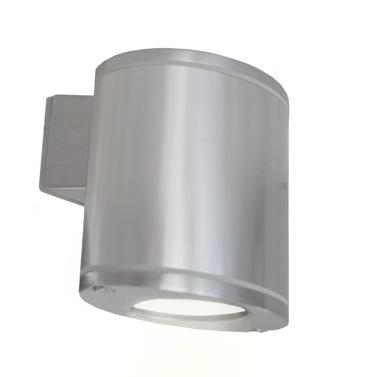 Lampenlux Außenwandleuchte Ovalus 3W GU10 LED Aluguß