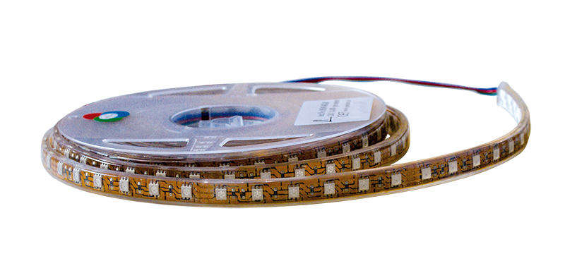 SONDERANGEBOT Lampenlux 5 Meter LED Strip Streifen Band 5m/R 24V 72W/R RGB IP20