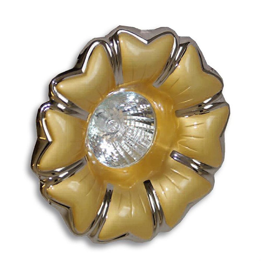 Lampenlux Einbaustrahler Gold/Chrom Ø11.5cm IP20