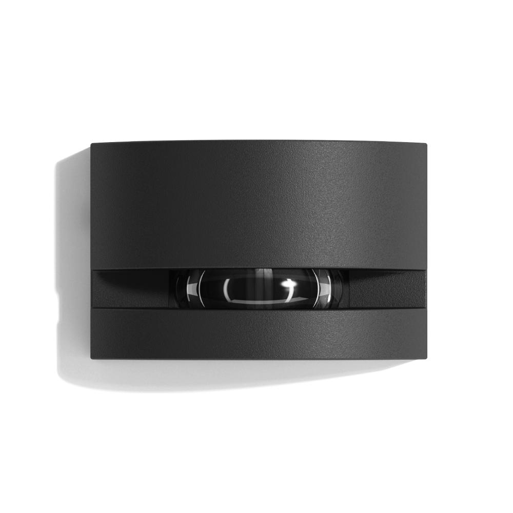 Lampenlux LED Außenleuchte Gix Effektlampe Aluminium Anthrazit 330lm 6W LED 3000K IP65