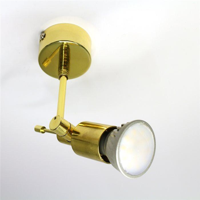 Lampenlux schwenkbar verschiedene Farben Fassung GU10 50W