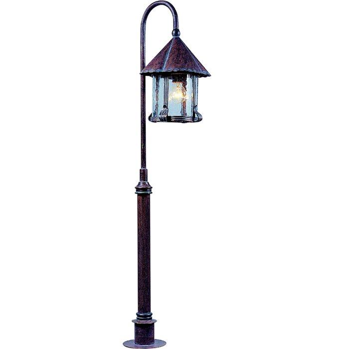 Lampenlux LED Aussenleuchte Eika Wegeleuchte Rustikal Antik Gartenlampe 125cm