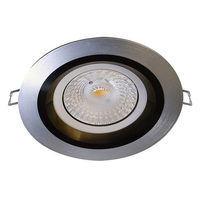 Lampenlux LED-Einbaustrahler Spot Falba schwenkbar rund AR111 Ø: 16 cm