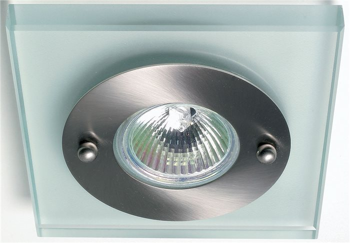 Lampenlux LED-Einbaustrahler Spot Sadoro schwenkbar rund 10.2cm chrom nickel MR16 GU10