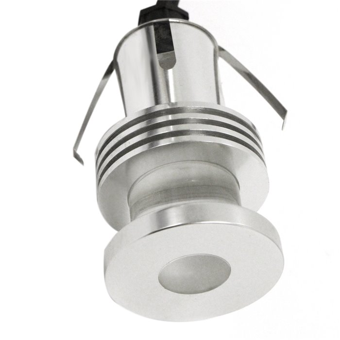 Lampenlux LED Einbaustrahler Tabi Aussenleuchte Rund Aluminium Garten 230V Spot
