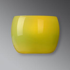 Lampenlux Wandlampe Reno Opalglas grün E14 Vorraum Wohnzimmer Wandleuchte