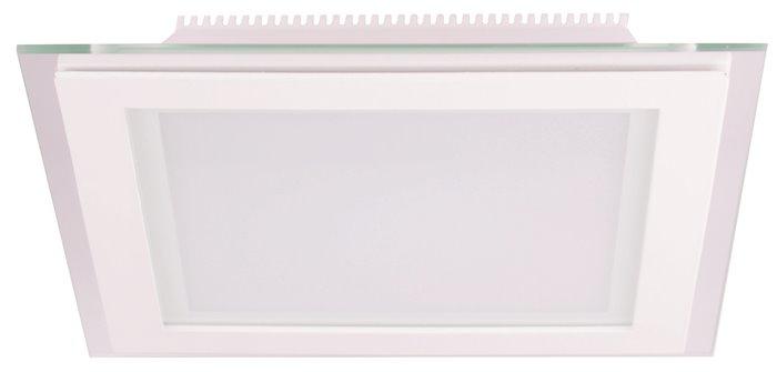 Lampenlux LED Einbaustrahler Kiras Aussenleuchte Eckig Flur Wand 10cm 230V Down