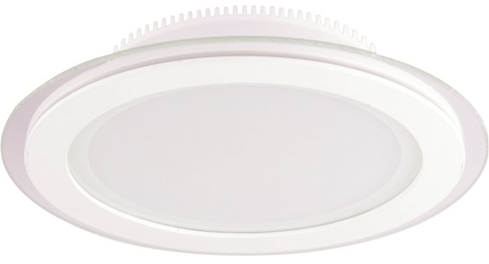 Lampenlux LED Einbaustrahler Kiras Aussenleuchte Rund Flur Wand 10cm 230V Down