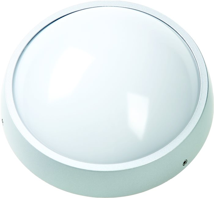 LED Badezimmer Deckenleuchte Kuso Rund 22cm 8W IP54 warmweiß 600 Lumen H: 7.1cm