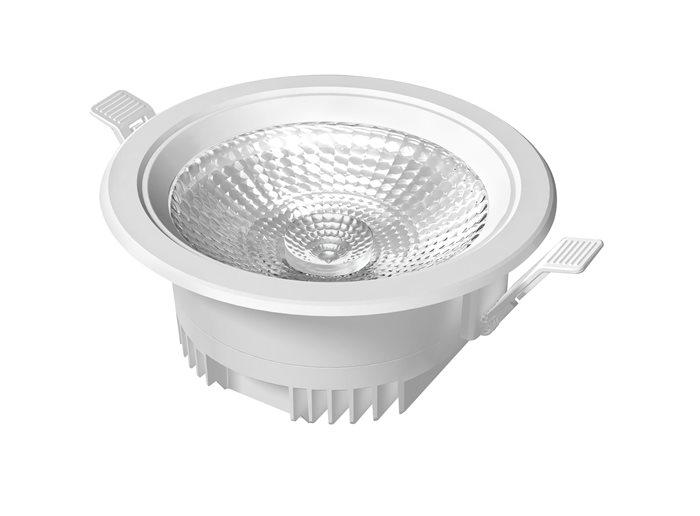 Lampenlux LED-Einbaustrahler Spot Uso Cameta™ rund weiß externer Trafo 230V 12/22W IP44