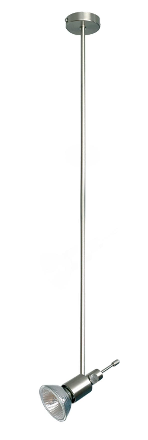 Lampenlux Aufbaustrahler Aufbauleuchte Dural lang 55cm dreh und schwenkbar GU10