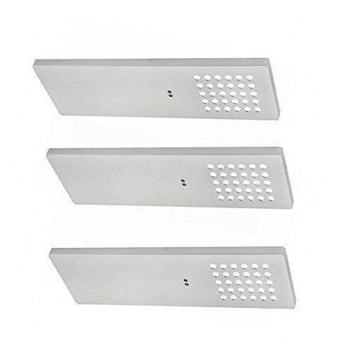 Lampenlux LED Unterbauleuchte Maneo Küchenleuchte Aufbaulampe Bewegungssensor Silber flach