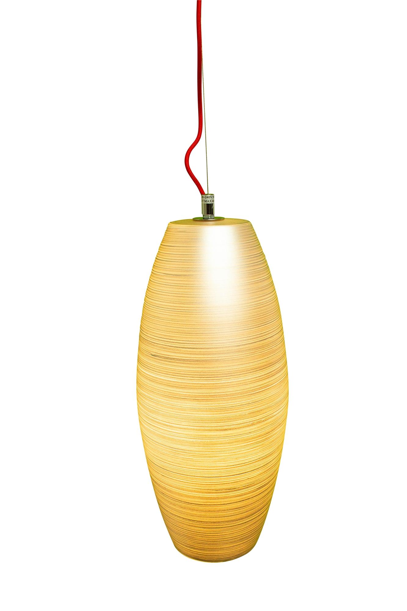 Lampenlux LED Pendellampe Pendelleuchte Biko Glasschirm Silber Fassung E27