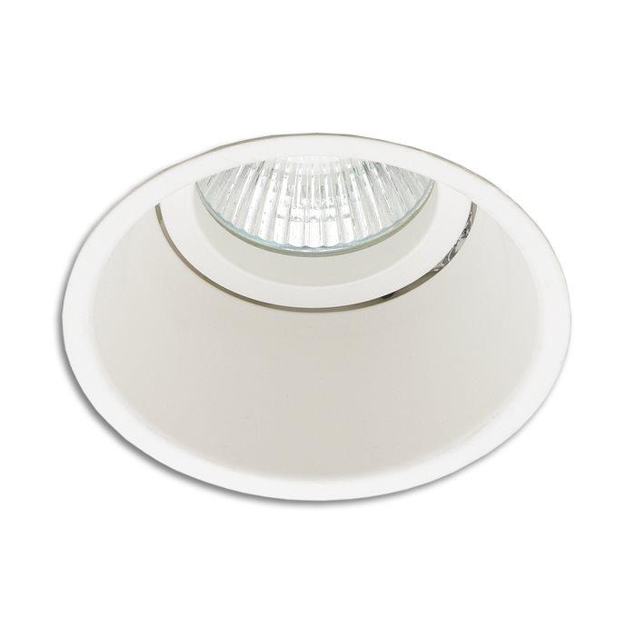 LED-Einbaustrahler Spot Ringo rund weiß Ø8.2cm 12V MR16 / 230V GU10 rostfrei