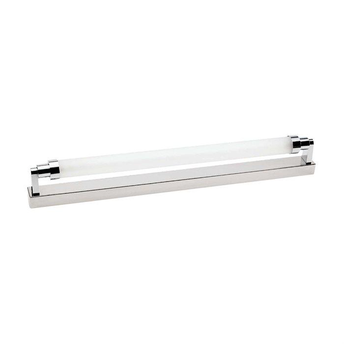 Lampenlux Wandlampe Badleuchte Paco Bad Licht Unterbau Chrom 67cm Küche Beleuchtung 14W T5