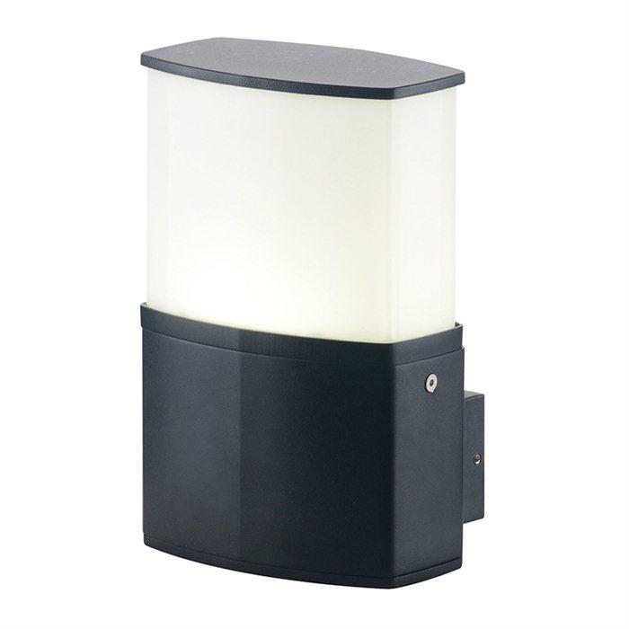 LED Außen Lampe Leuchte Wand Cindy Licht Garten ohne Sensor Schwarz Schwenkbar