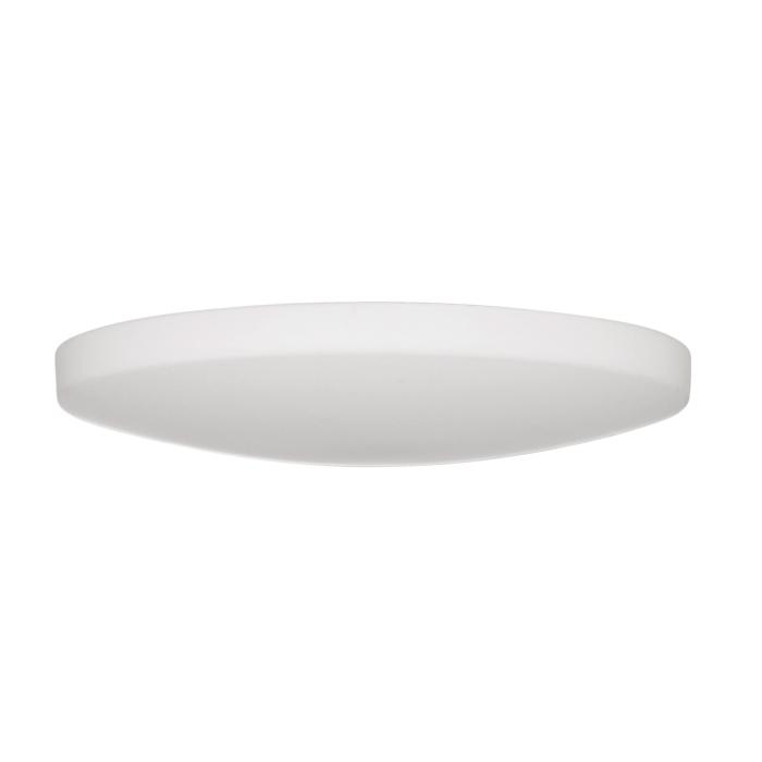 Lampenlux LED Deckenlampe Deckenleuchte Dabo Glasschirm weiss E27 12W Ø:48cm Glas Schirm