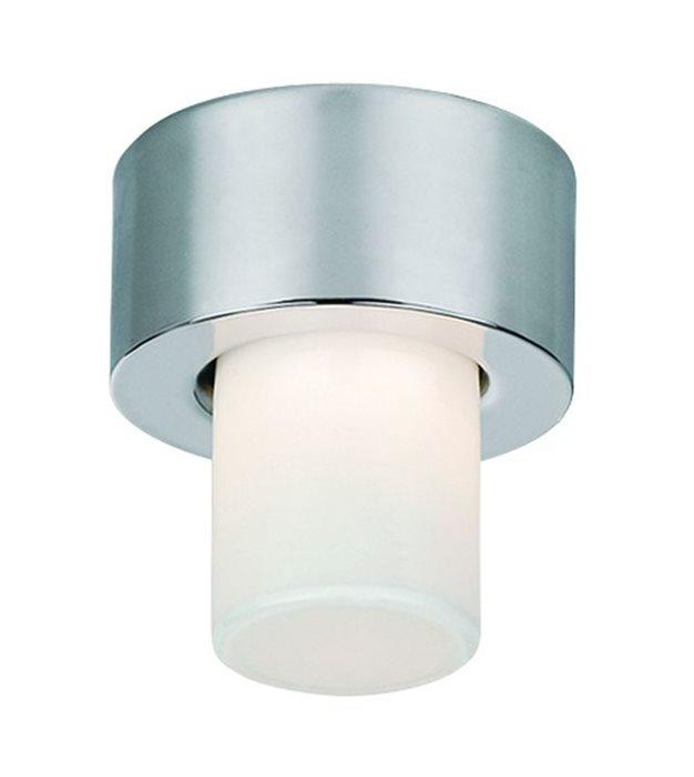 Lampenlux Deckenlampe Deckenleuchte Dandy Glasschirm nickel satiniert G9 Ø:10cm Glas Schirm