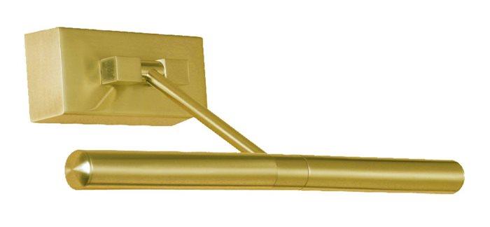 Bilderleuchte Bilderlampe Nestor Wandleuchte 2-flammig schwenkbar gold rostfrei