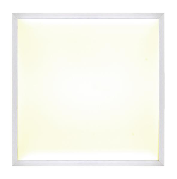 LED Panelo Einbaupanel Hago silber 40W 62x62cm warmweiss