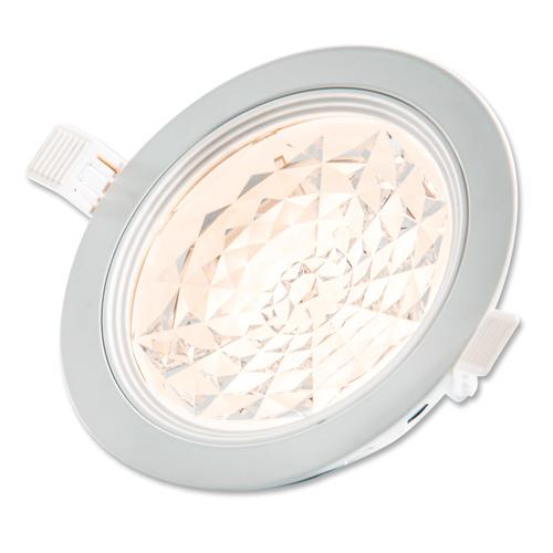 Lampenlux LED-Einbaustrahler Spot Sisko Cameta™ rund weiß dimmbar externer Trafo 230V Einbauleuchte Einbaulampe Einbauspot Spot Strahler Punktstrahler Aluminium Downlight Down Deckeneinbaustrahler Deckeneinbauleuchte