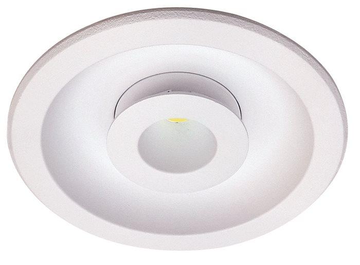 Lampenlux LED-Einbaustrahler Spot Sandor rund weiß Ø12 cm Aluminium 14 Watt inkl. LEDEinbauleuchte Einbaulampe Einbauspot Spot Strahler Punktstrahler Aluminium Downlight Down Deckeneinbaustrahler Deckeneinbauleuchte