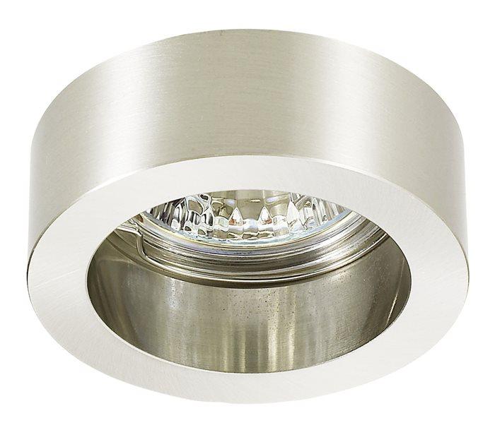 Lampenlux LED-Einbaustrahler Spot Rundu rund chrom/Nickel sat. 7.0x7.0 12/230V rostfrei